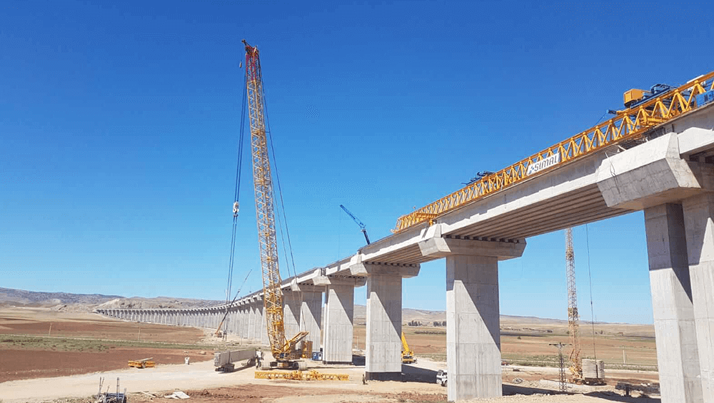 Ankara-Sivas High Speed Railway Project Viaduct V3